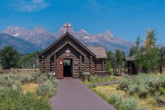 Church of The Transfiguration and Grand Tetons