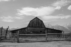 T. A. Moulton barn, Mormon Row, Moose WY