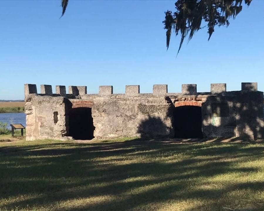 Favorite US National Parks - Fort Frederica National Monument