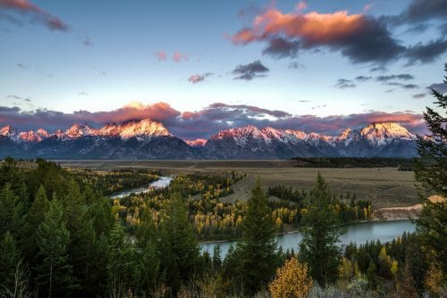 Favorite US National Parks Sites - Grand Tetons National Park Snake River Overlook
