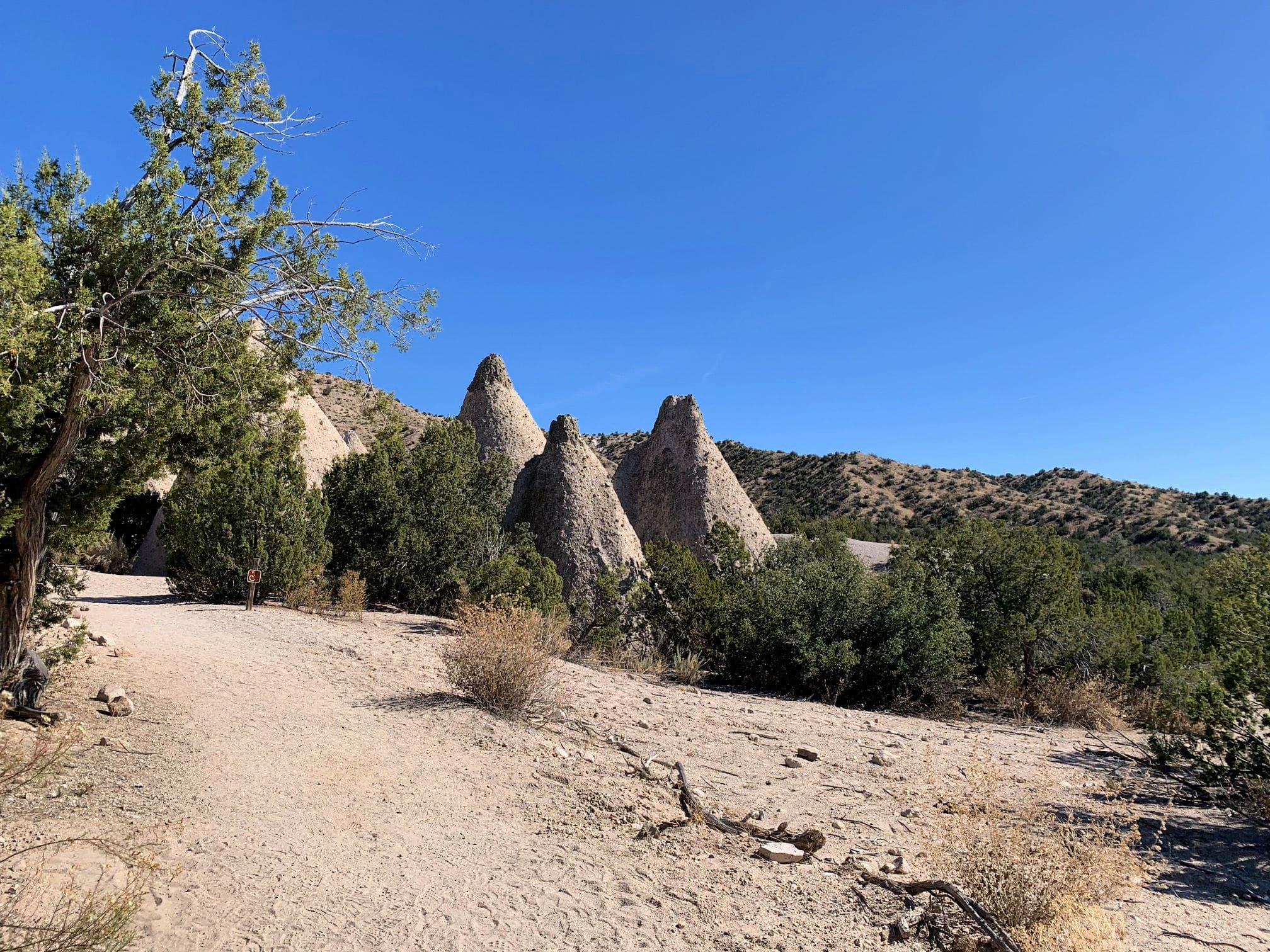 Favorite US National Parks - Tent Rocks National Monument